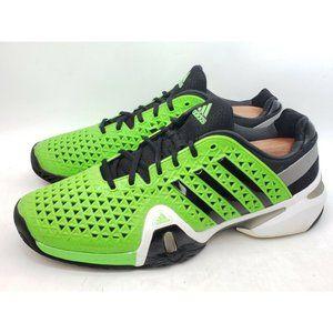 ADIDAS Barricade 8+ Green Pro Tennis Shoes Mens 12
